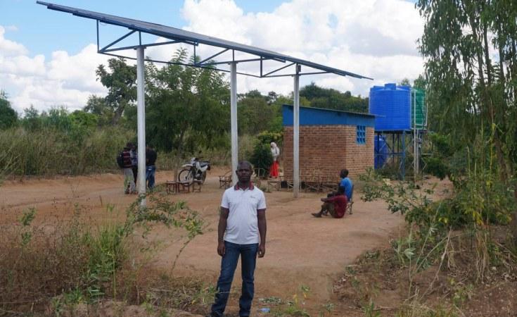 Malawi Zomba City In Solar Powered Street Light Project