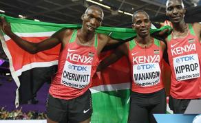 Athlétisme - Le Kenya gagne