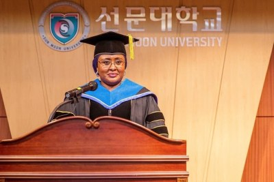 Aisha Buhari on her conferment with a Doctor of Philosophy in Public Administration