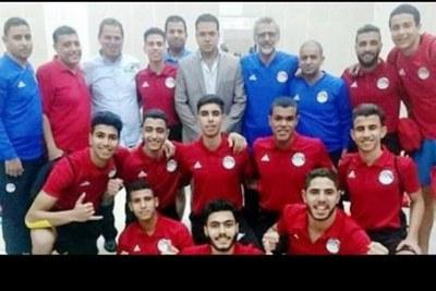 L'équipe égyptienne