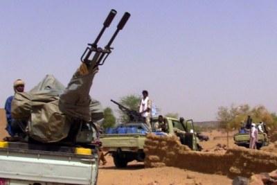 Des terroristes au Mali (photo d'archives)