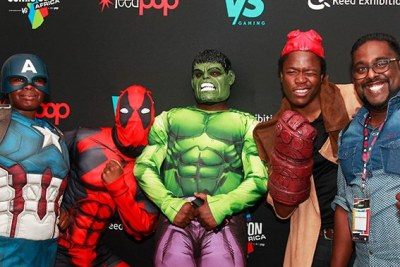 The Comic Con event comes to Africa for the very first time.