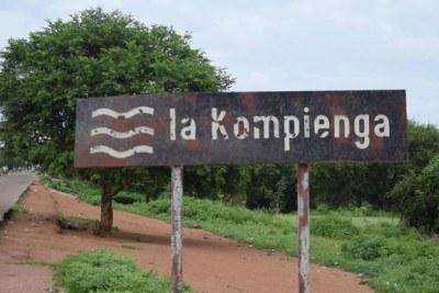 La localité de la Kompienga, situé à l'Est de Burkina Faso, cible de plusieurs attaques terroristes.