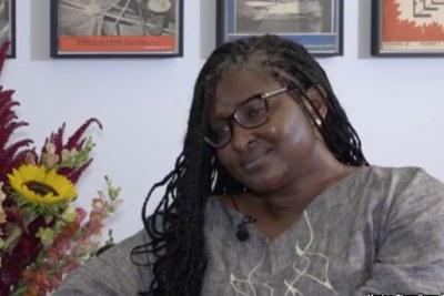 Namibia first lady Monica Geingos