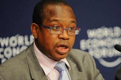 Finance and Economic Development Minister Professor Mthuli Ncube
