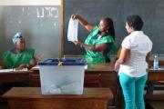 Mozambique elections (file photo).