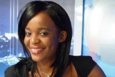 La journaliste Mimi Mefo