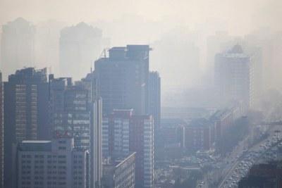 La pollution de l'air est un problème sanitaire majeur.