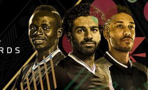 Aubameyang, Mané, Salah en lice pour le Ballon d'Or Africain 2018