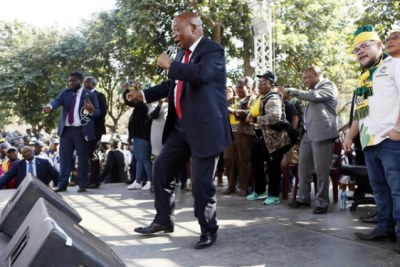 Le charismatique Jacob Zuma