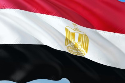 Egyptian flag.