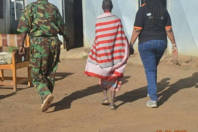 A 12-year-old Kenyan girl rescued from child marriage by police and charity workers (file photo).