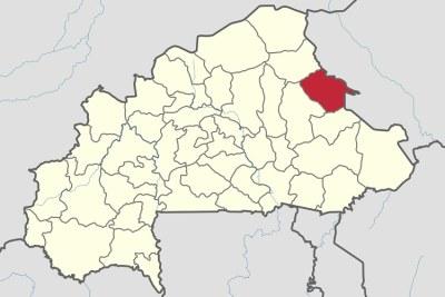 «Le site d'exploration minière de Tiabongou, dans le département de Mansila, province du Yagha (région du Sahel
