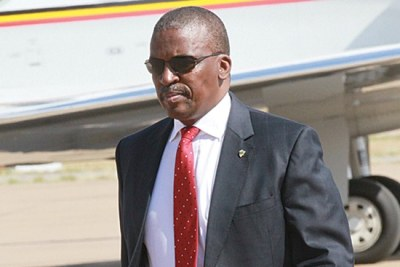 Botswana's former Director of the Directorate of Intelligence and Security Services (DISS), Isaac Kgosi.