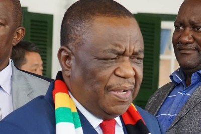 Vice President Constantino Chiwenga (file photo).