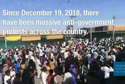 Depuis la mi-décembre, les manifestants sont descendus dans les rues de villes et villages du pays pour protester contre les hausses de prix et demander au président Omar al-Bashir, au pouvoir depuis 29 ans, de se retirer. Les manifestations ont commencé à Atbara et se sont étendues à d'autres villes, notamment Gedarif, Wad Madani, Port-Soudan, Dongola, El Obeid, El Fasher, Khartoum et Omdurman.