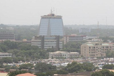Vue de la ville d'Accra, au Ghana (photo d'illustration).