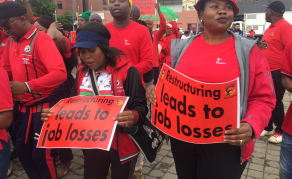 South African Unions Down Tools In National Strike