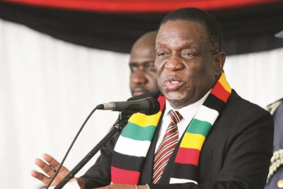 Président Emmerson Mnangagwa