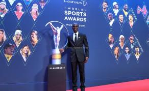 Kenya's Olympics Champ Kipchoge Bags Laureus Award