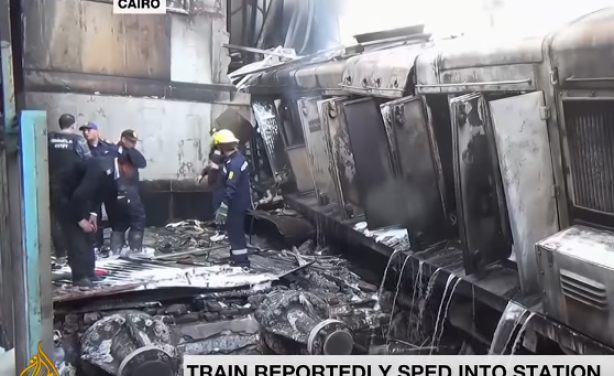 At least 20 killed, over 40 injured in Cairo train station fire
