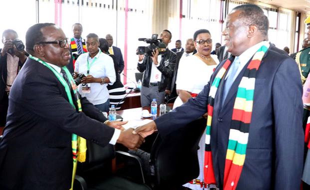 Zimbabwe: Mnangagwa Dissolves Party's Harare, Bulawayo Structures