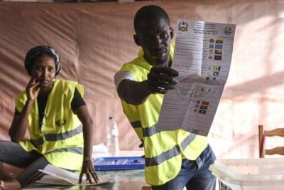 Législatives à Bissau