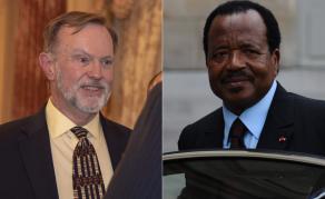 Le «Monsieur Afrique» américain Tibor Nagy rencontre Paul Biya au Cameroun