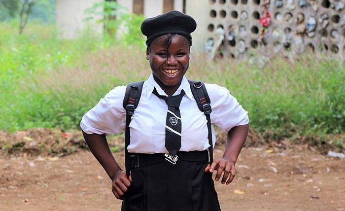 Helping Young Women to Stay in School in Sierra Leone