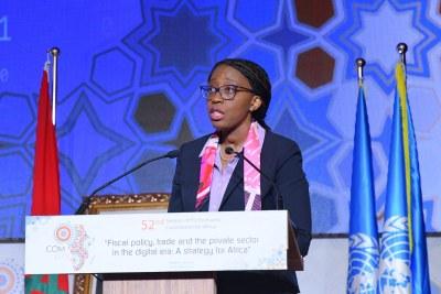 Vera Songwé, Secrétaire Exécutive de la Commission Economique pour l'Afrique (CEA)