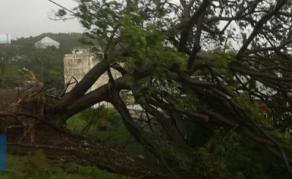Cyclone Joaninha - Rodrigues, le jour d'après