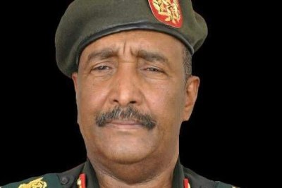Le Lit-Gen Abdel Fattah El Burhan Abdel Rahman a