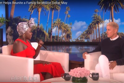 Achieng Agutu on The Ellen Show.
