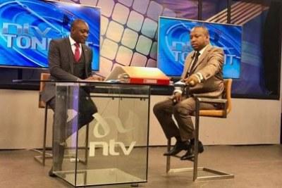 Nairobi Governor Mike Sonko on NTV's Sidebar Show.