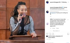 Zimbabwean Socialite Pokello Wants to Mentor Young Women