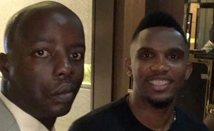 Kenya/Cameroon: Raila Junior's Big Moment With Cameroonian Football Legend Eto'o