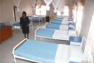 A ward at the Bondeni maternity in Nakuru Town East.
