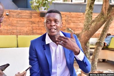 Award-winning singer Joseph Mayanja aka Jose Chameleone, who is running for Kampala Mayor.