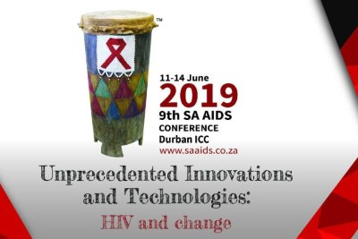 Banner image promoting the SA AIDS Conference.