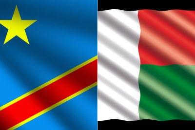 DR Congo, Madagascar