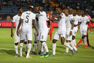 Les Blacks Stars du Ghana