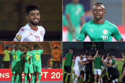 AFCON 2019: Tunisia vs Senegal.