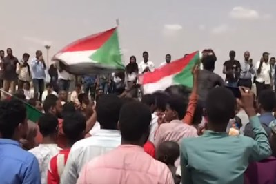 Manifestation à Khartoum