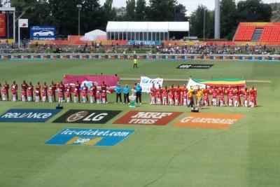 West Indies v Zimbabwe in 2015.