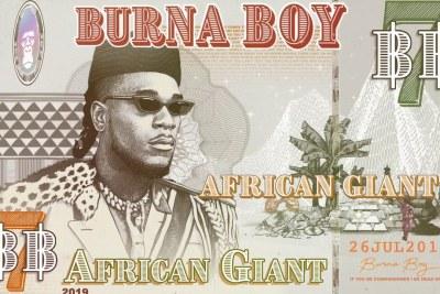 Burna Boy releases new album African Giant.