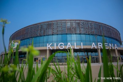 Kigali arena.