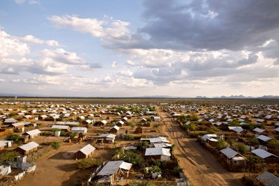 Kakuma refugee camp (file photo).