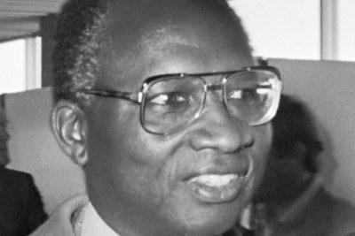 Premier président gambien Dawda Kairaba Jawara