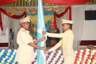 New Somali Army Chief General Odawaa Yusuf Rage