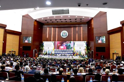 The 39th Ordinary Summit of SADC Heads of State at the Julius Nyerere International Convention Centre in Dar es Salaam in Tanzania in August 2019.